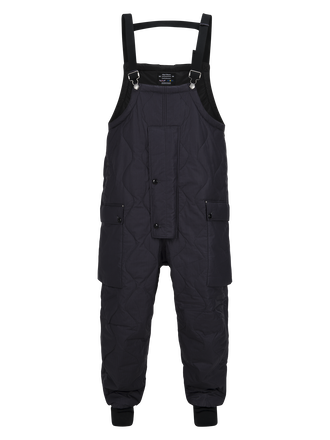 Unisex Quilted Naval Dungarees