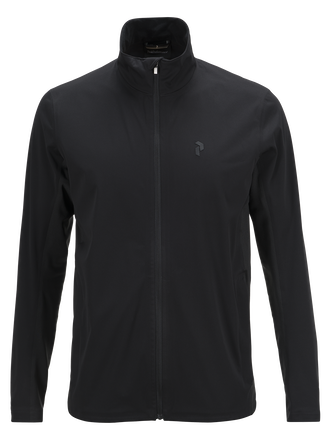 Veste de golf pour hommes Howick Softshell Black | Peak Performance