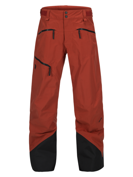 Teton herrskidbyxor Orange Planet | Peak Performance