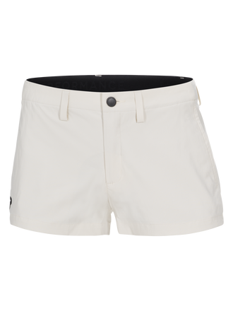 Women's Treck Shorts Milk White | Peak Performance
