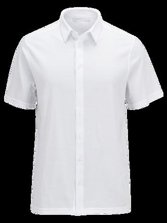 Men's Calm Shortsleeved Shirt White | Peak Performance
