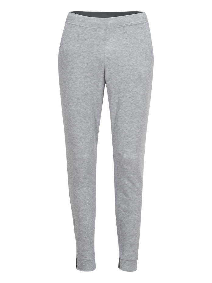 Men's Running Structure Pants Med Grey Mel | Peak Performance