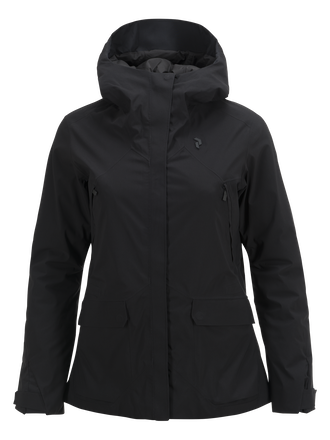 Damen Whitewater Skijacke Black | Peak Performance