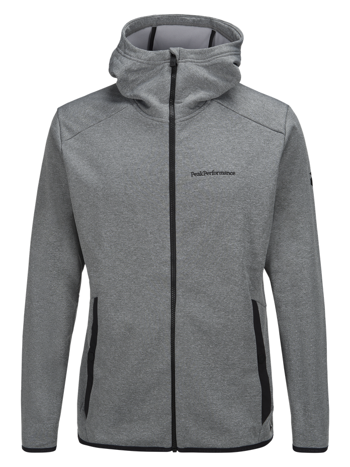 Men's Goldeck Hooded Zipped Mid-layer