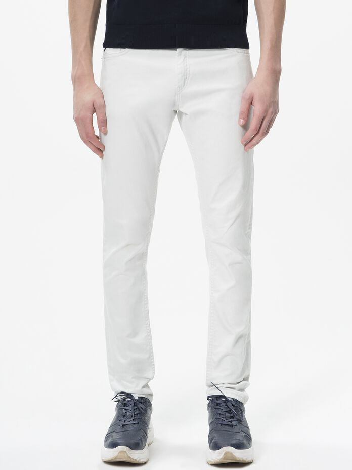 Men's Bob Twill Pants Laundry White | Peak Performance