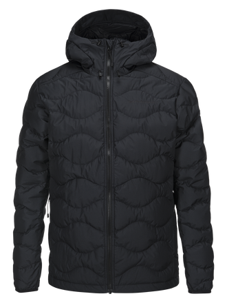 Men's Helium Hooded Windstopper Jacket Black | Peak Performance