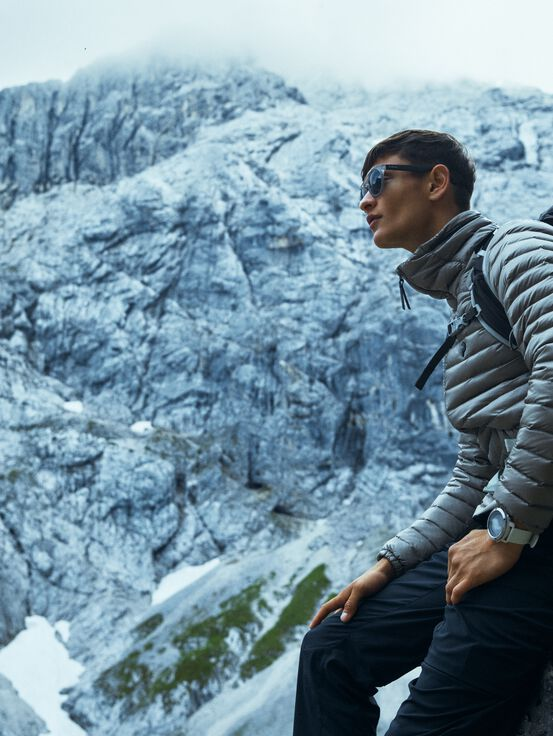 Men's Reform Liner Jacket Slow Beige | Peak Performance