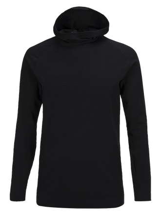 Men's Yorba Hooded Mid-layer Black | Peak Performance