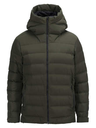 Men's Spokane Down Ski Jacket Forest Night | Peak Performance