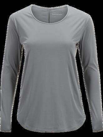 Women's Epic Long-sleeved Top Grey melange | Peak Performance