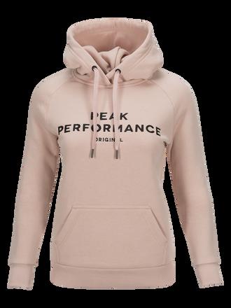 Women's Logo Hoodie Softer Pink | Peak Performance