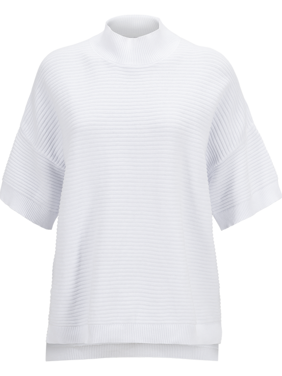 Women's Mock Crew neck White | Peak Performance