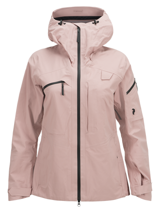 Women's Alpine Ski Jacket Dusty Roses | Peak Performance