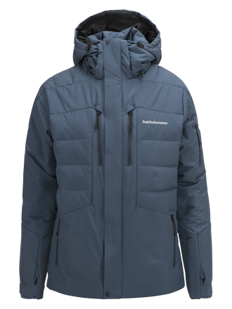 Men's Shiga  Ski Jacket Blue Steel | Peak Performance