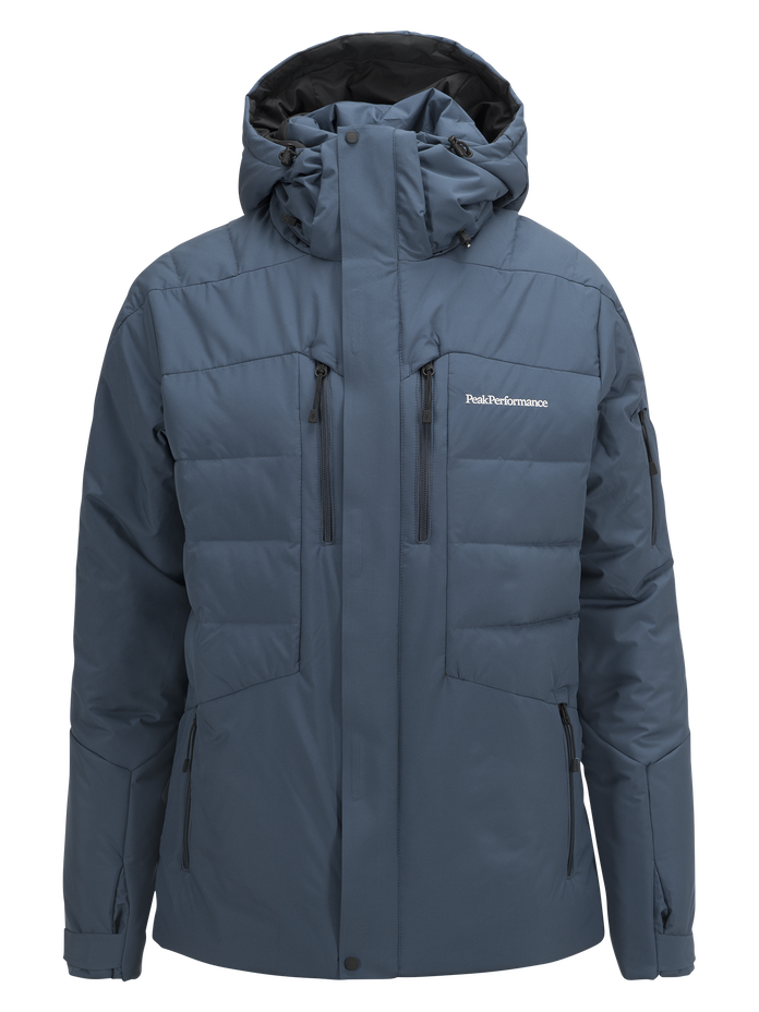 Blouson de ski homme Shiga Blue Steel | Peak Performance