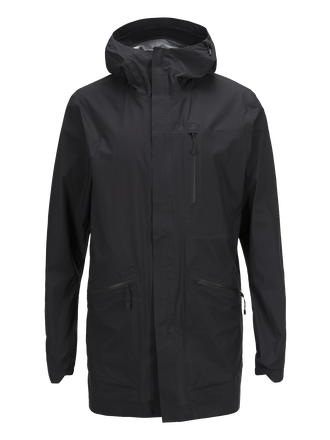 Men's Civil Light Parka Black | Peak Performance