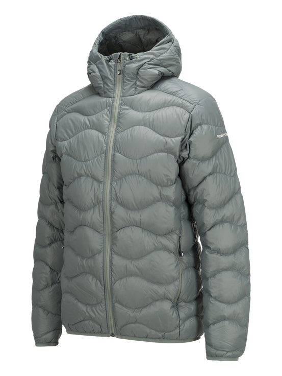 Men's Helium Hooded Jacket Slate Green | Peak Performance