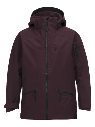 Kids Radical 3-Layer Ski Jacket Mahogany | Peak Performance