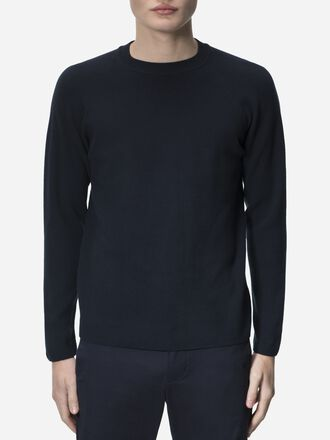Men's Rob Crew neck Salute Blue | Peak Performance