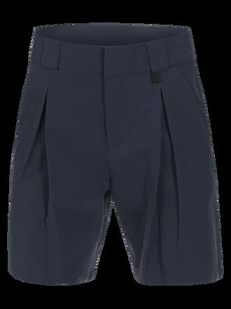 Women's Golf Swinley Pleat Shorts Salute Blue   Peak Performance