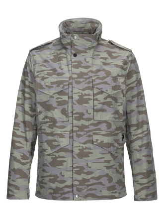 Herren Hunt Camo Jacke PATTERN | Peak Performance