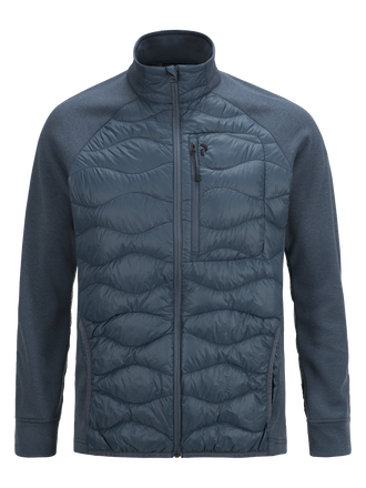 Men's Heli Hybrid Jacket Blue Steel | Peak Performance