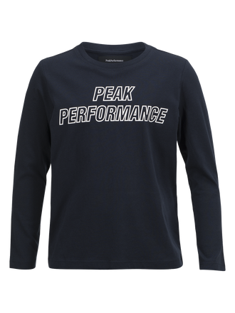 Kids T-Shirt mit langem Arm Salute Blue | Peak Performance
