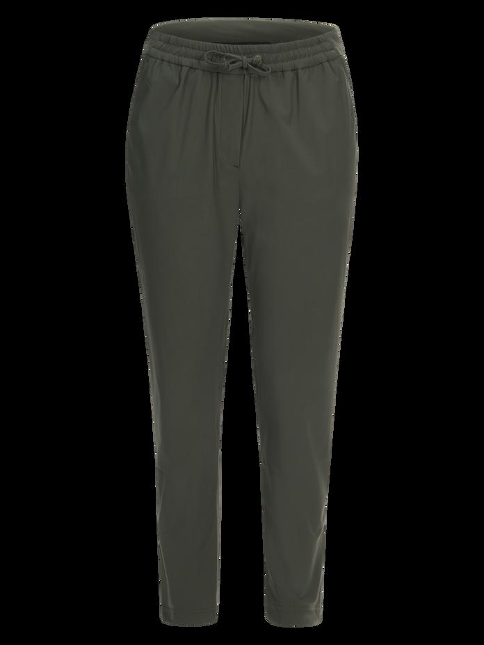 Women's Any Jersey Pants Terrain Green | Peak Performance