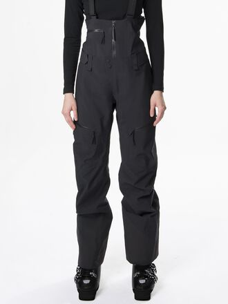 Damen Volcan Ski-Latzhose Black | Peak Performance