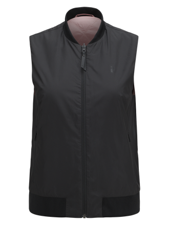 Women's Lombard Liner Vest Black | Peak Performance
