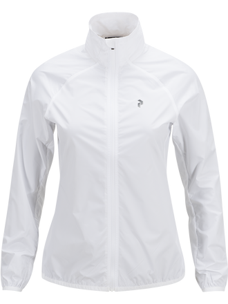 Damen Golf Fairlie Jacke White | Peak Performance