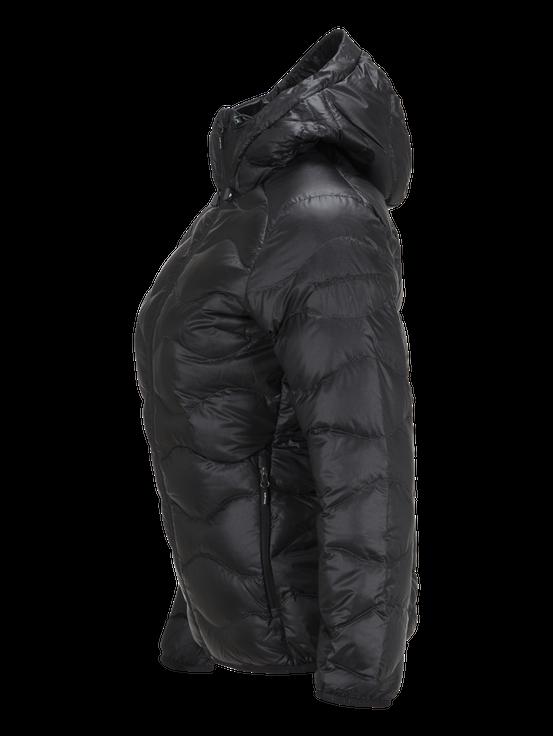 Women's Black Light Helium Hooded Jacket Black | Peak Performance