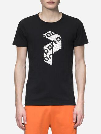 Art t-shirt för herrar Black | Peak Performance
