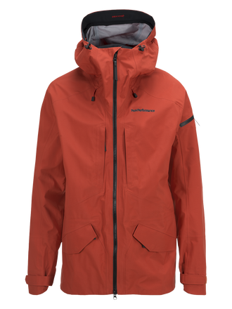 Teton herrskidjacka Orange Planet | Peak Performance