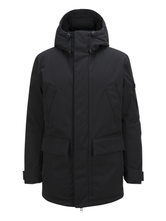 Men's Ground Parka Black | Peak Performance