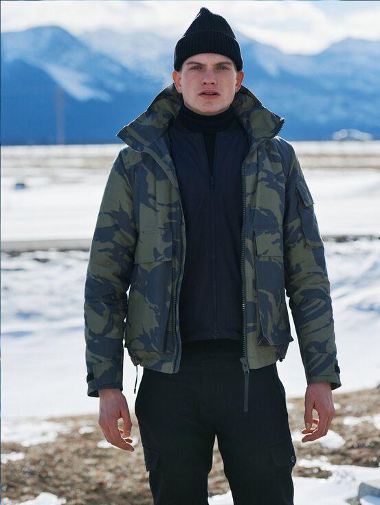 Men's Squad Camo Jacket