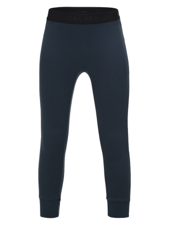Kids Might Micro Long-Johns Blue Steel | Peak Performance