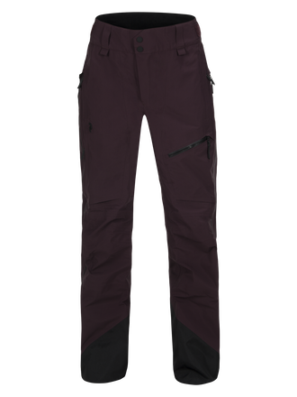 Women's Alpine Ski Pants Mahogany | Peak Performance