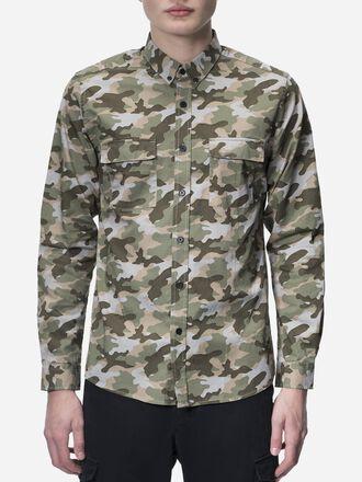 Men's Dean Camo Shirt Pattern | Peak Performance