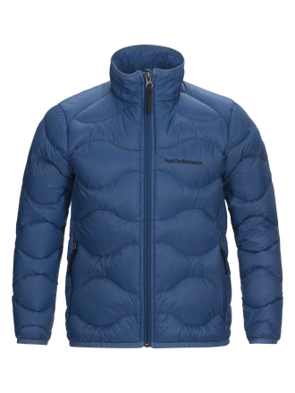 Kids Helium Jacket Stream Blue | Peak Performance