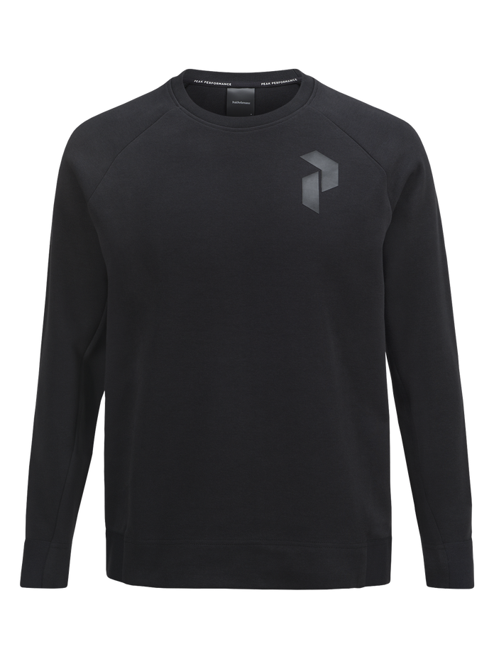 Herren Tech Rundhalspullover Black | Peak Performance