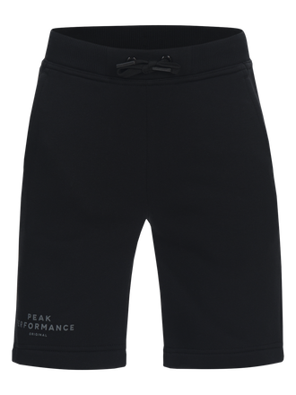 Kids Logo Shorts Black | Peak Performance