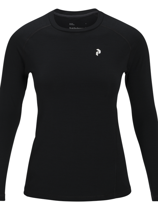 Women's Multi Base-Layer Long sleeve Black | Peak Performance