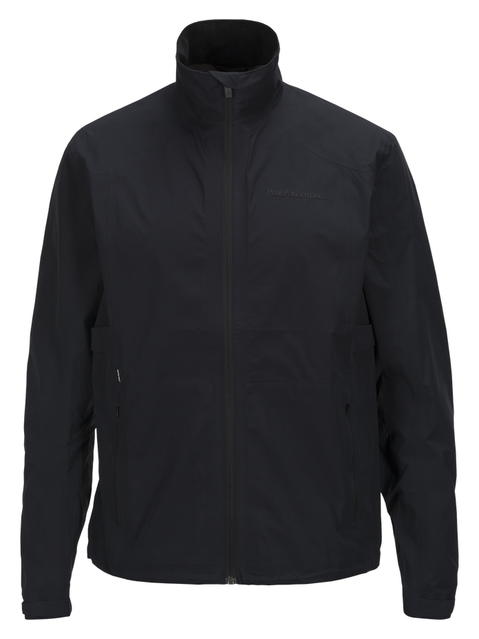 Men's Heriot Golf Jacket Black | Peak Performance