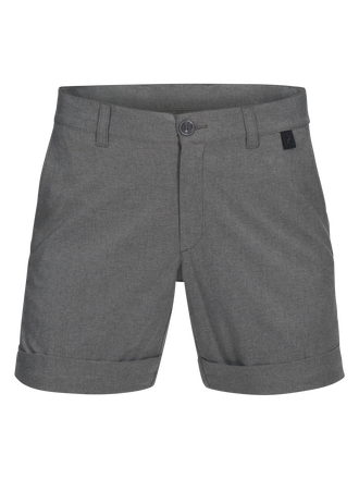 Women's Golf Printed Shorts Grey melange | Peak Performance