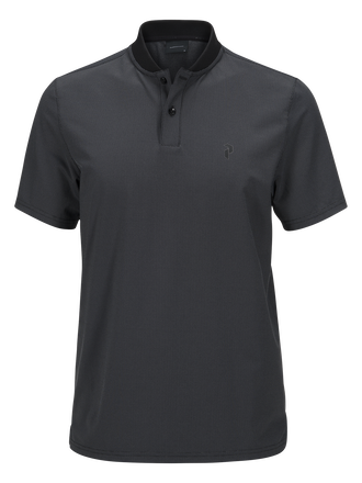 Men's  Golf Austin Polo Black | Peak Performance
