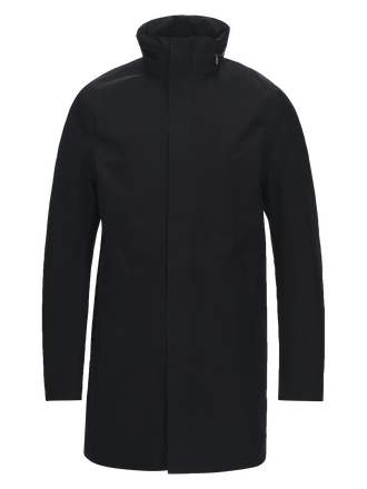 Men's Parkes Coat Black | Peak Performance