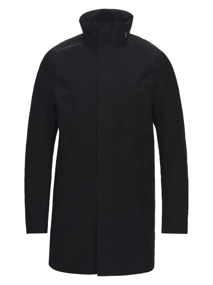 Men's Parkes Coat Black | Peak Performance
