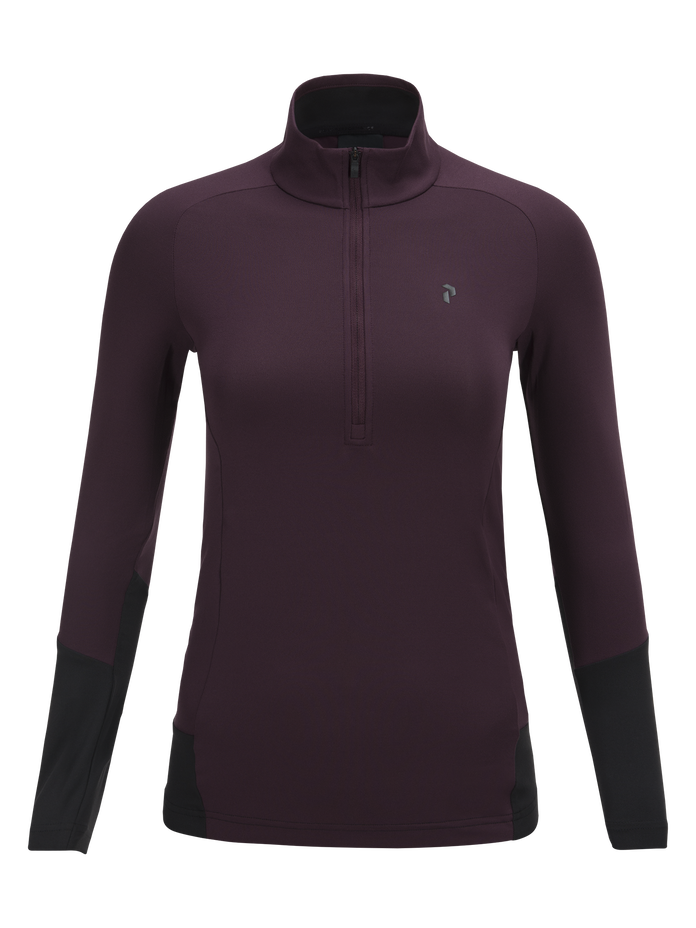 Haut de base de golf femme Mahogany | Peak Performance
