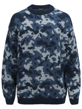 Men's Ben Camo Crew neck Deep Well | Peak Performance